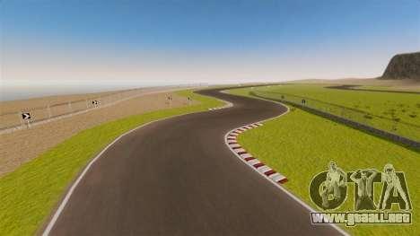 Mini circuito Spa-Francorchamps para GTA 4 quinta pantalla
