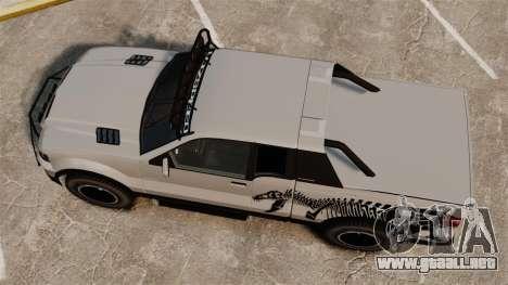 Vapid Contender T-Rex SDT v3.0 para GTA 4 visión correcta