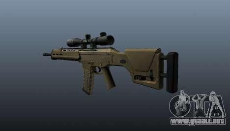 Fusil automático de Magpul Masada para GTA 4 segundos de pantalla