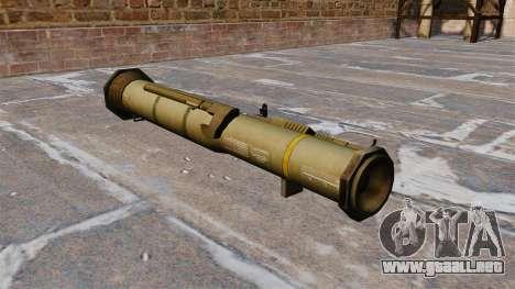 Lanzagranadas antitanque AT4 para GTA 4