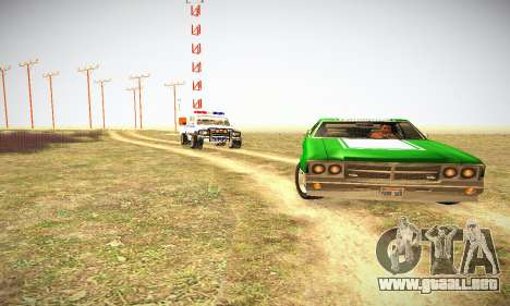GTA IV Sabre Turbo para visión interna GTA San Andreas