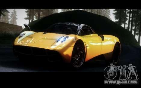 Pagani Huayra 2013 para GTA San Andreas left