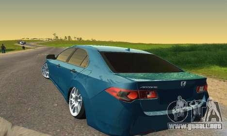 Honda Accord Tuning para visión interna GTA San Andreas