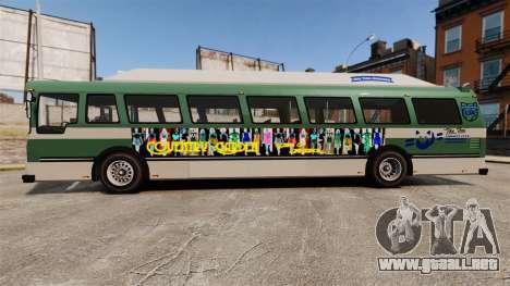 Real publicidad en taxis y autobuses para GTA 4