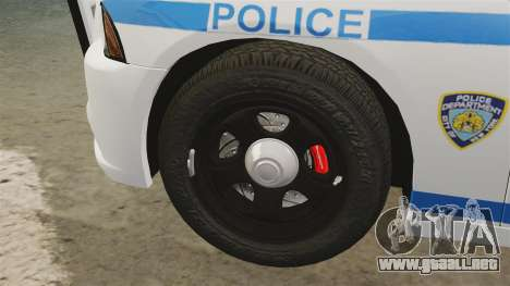 Dodge Charger 2012 NYPD [ELS] para GTA 4 vista interior