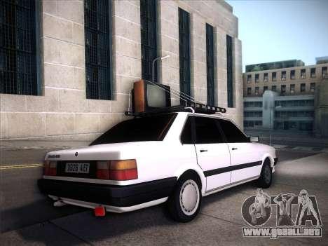 Audi 80 B2 v2.0 para visión interna GTA San Andreas