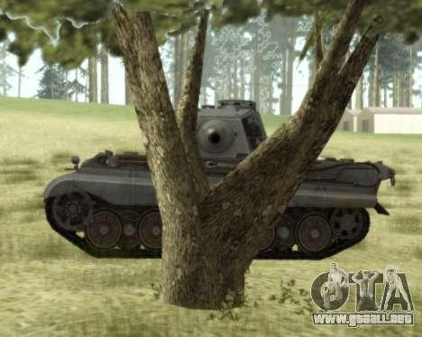 PzKpfw VIB Tiger II para GTA San Andreas vista posterior izquierda