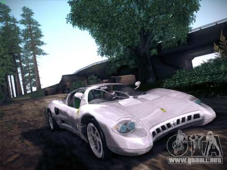 Ferrari P7 Chromo para la visión correcta GTA San Andreas
