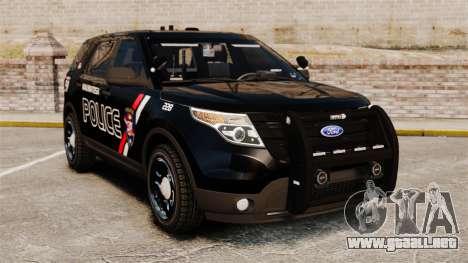 Ford Explorer 2013 Utility - Slicktop [ELS] para GTA 4