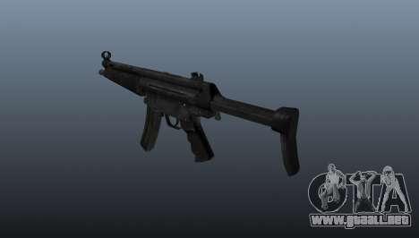 Subfusil HK MP5 A3 para GTA 4 segundos de pantalla