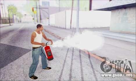 Extintor nuevo 2 para GTA San Andreas tercera pantalla