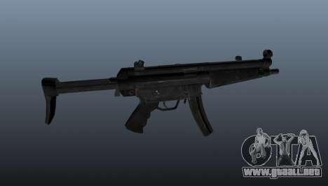 Subfusil HK MP5 A3 para GTA 4 tercera pantalla