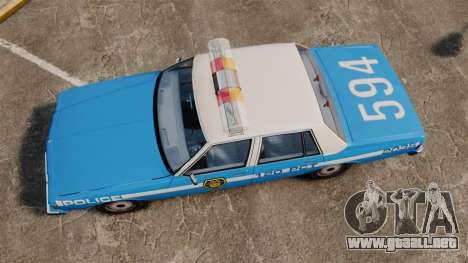 Chevrolet Caprice 1987 LCPD para GTA 4 visión correcta
