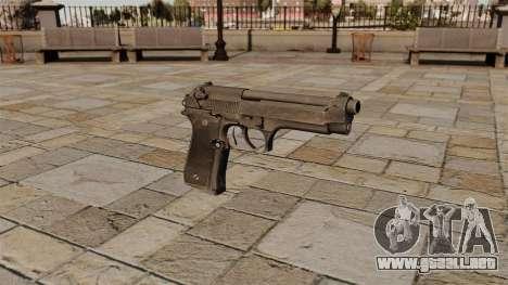 Pistola semiautomática Beretta para GTA 4