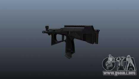 Ametralladora pp-2000 v2 para GTA 4 segundos de pantalla