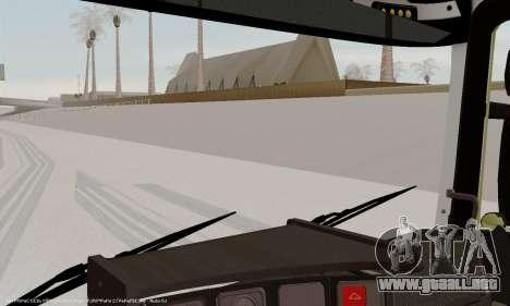 Tablero de instrumentos activos v3.2 completo para GTA San Andreas quinta pantalla