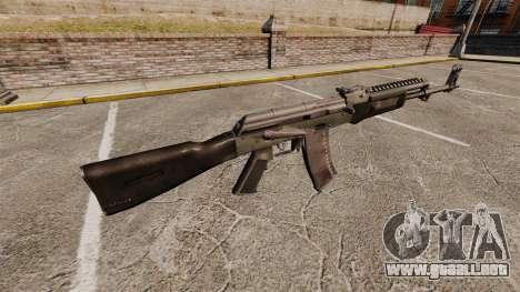 AK-47 v4 para GTA 4 segundos de pantalla
