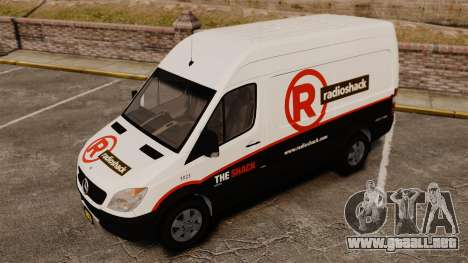 Mercedes-Benz Sprinter 2500 2011 v1.4 para GTA motor 4