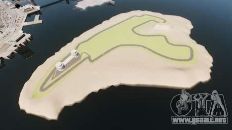 Mini circuito Spa-Francorchamps para GTA 4