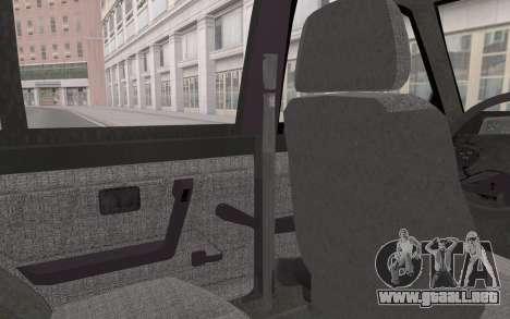 FSO Polonez Atu Orciari 1.4 GLI 16V para visión interna GTA San Andreas