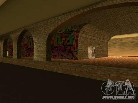 Estación de ferrocarril Las Venturas v1.0 para GTA San Andreas segunda pantalla
