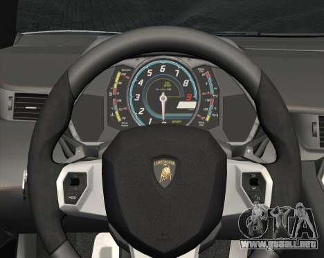 Lamborghini Aventador LP700-4 2012 RCPD V1.0 para vista inferior GTA San Andreas