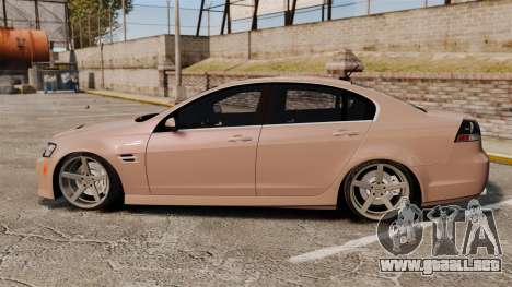 Pontiac G8 GXP [VE] 2009 para GTA 4 left