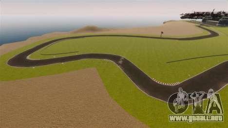 Mini circuito Spa-Francorchamps para GTA 4 séptima pantalla