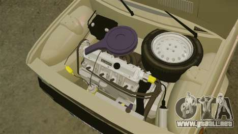 Zastava Yugo 128 para GTA 4 vista interior