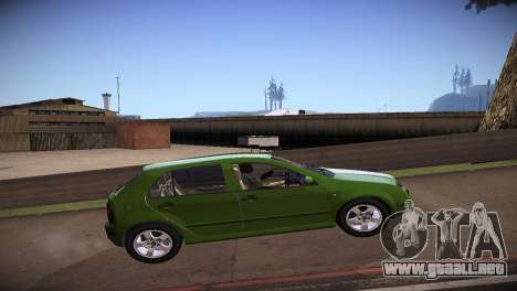 Skoda Fabia para GTA San Andreas left