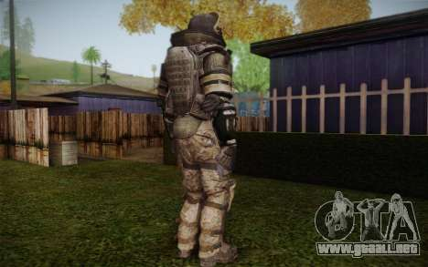 COD MW3 Heavy Commando para GTA San Andreas quinta pantalla