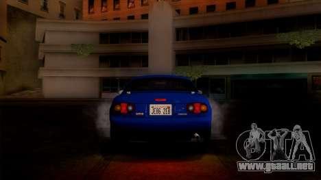 Mazda MX-5 Miata (NA) 1989 para visión interna GTA San Andreas