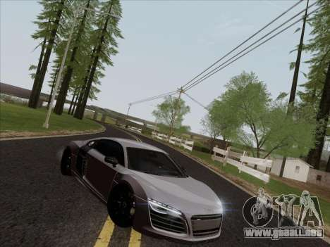 Audi R8 V10 Plus para visión interna GTA San Andreas