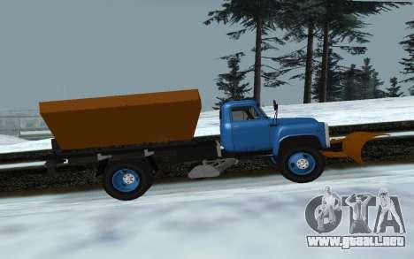 53 GAS soplador de nieve para GTA San Andreas left