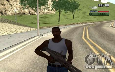 M60E4 para GTA San Andreas sexta pantalla