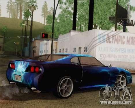 Los trabajos de pintura de bufón para GTA San Andreas left