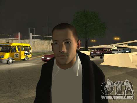 Chester Bennington para GTA San Andreas tercera pantalla
