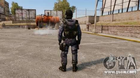 Inglés comando SAS para GTA 4 tercera pantalla