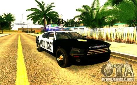 Police Buffalo GTA V para GTA San Andreas