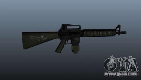 El fusil de asalto M16A4 para GTA 4 tercera pantalla