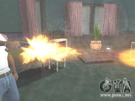 Ruger .22 para GTA San Andreas sexta pantalla