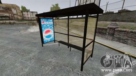 Nueva publicidad en paradas de autobús para GTA 4 quinta pantalla