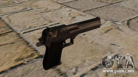 Desert Eagle pistola Stalker para GTA 4 segundos de pantalla