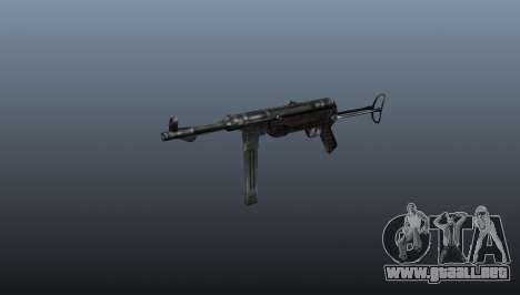 Ametralladora MP 40 para GTA 4