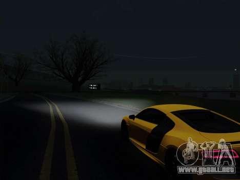 Audi R8 V10 Plus para la visión correcta GTA San Andreas