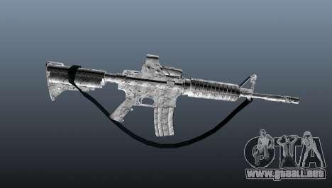 Automático carabina M4A1 para GTA 4 tercera pantalla
