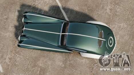 GTA V Z-Type para GTA 4 visión correcta