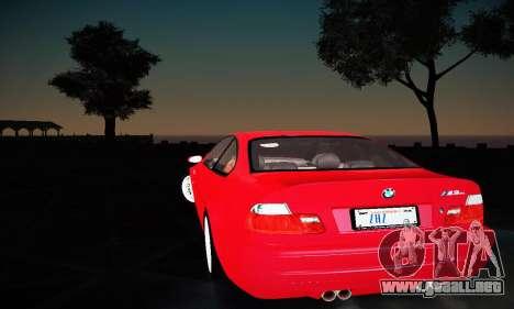 BMW E46 M3 CSL para la visión correcta GTA San Andreas