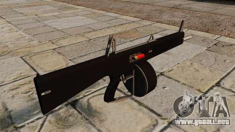 La escopeta AA-12 para GTA 4 segundos de pantalla