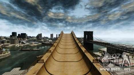 Mega jump para GTA 4 adelante de pantalla